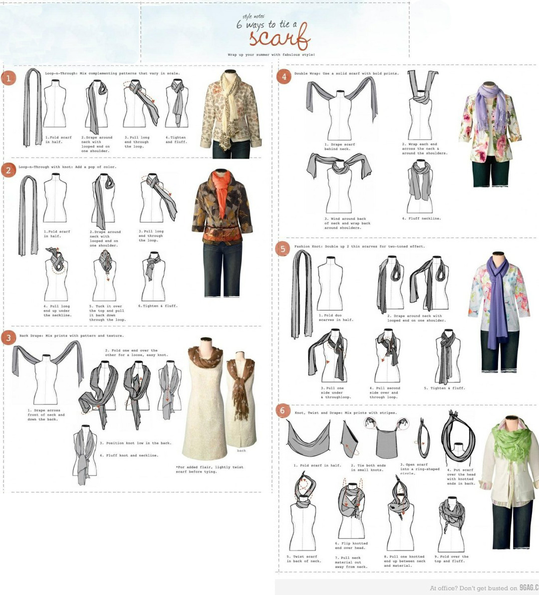 how to tie a scarf my style tie a scarf